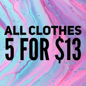 All adult clothes